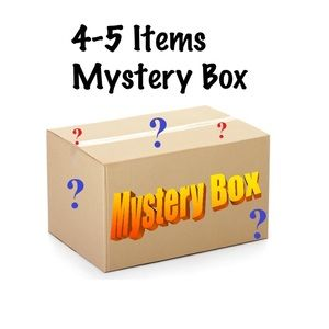 Mystery Box : 4 -5 items . Get yours today